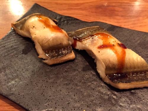 Anago/Sea Eel Nigiri (8/10).