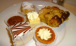 Assortment of Desserts.
