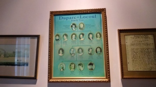 The Duparc Family Tree.