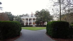 Entrance to Oak Valley Mansion.