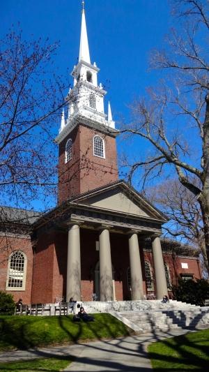 Harvard Memorial Church.