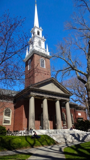 Harvard Memorial Church.