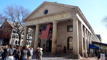 Quincy Market.