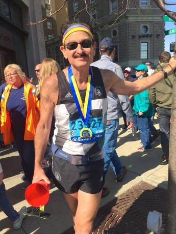 His 27th Marathon!