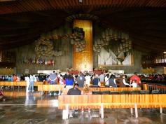 Inside the Modern Basilica.
