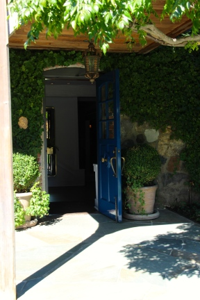 The Famous Blue Door.