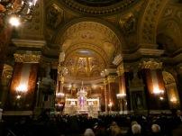 Inside St. Stephen's Basilica.
