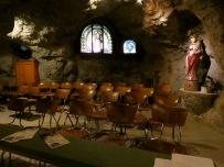 Inside Gellért Hill Cave.