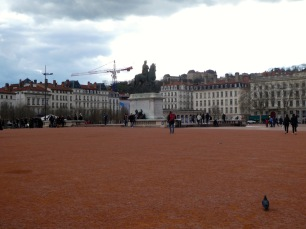 Place Bellecour.