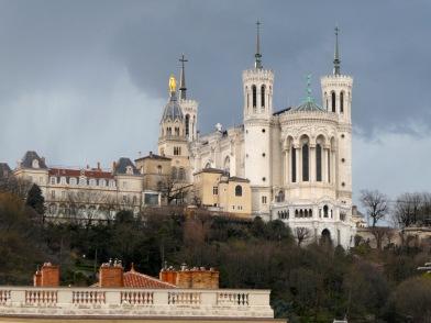 Basilica of Notre-Dame de Fourvière.
