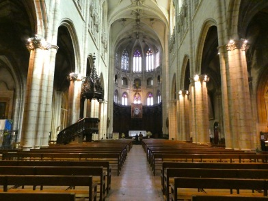 Inside Saint-Nizier Church.