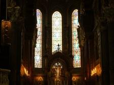 Inside Basilica of Notre-Dame de Fourvière.Inside Basilica of Notre-Dame de Fourvière.Inside Basilica of Notre-Dame de Fourvière.