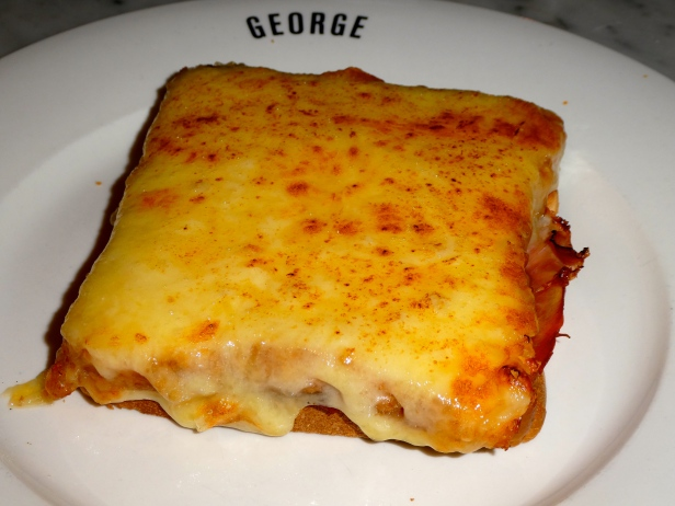 Croque Monsieur.