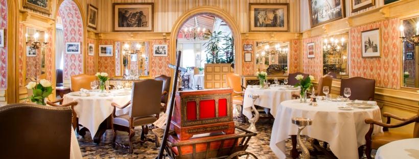 Fransk mad på første klasse. L'Auberge du Pont de Collonges. Tres elegante og 3 Michelin stjerner i 55 år