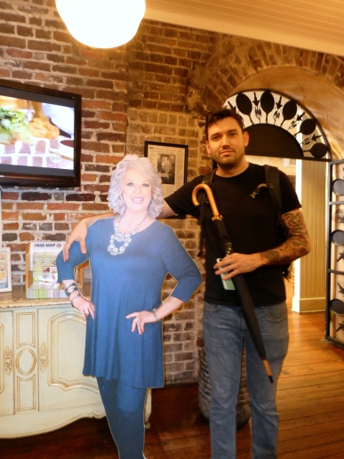 Just Hanging Out with Paula Deen.