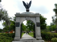 Colonial Park Cemetery.