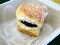 Biscuit with Blackberry Jam.