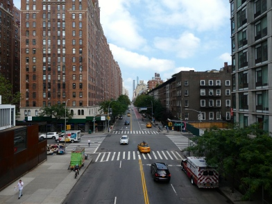 View from The High Line Park.
