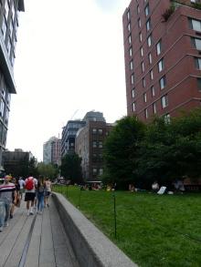 The High Line Park.